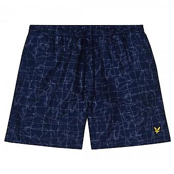Lyle & Scott Fluid Pool Print Swim Shorts SH1002V