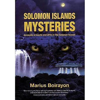 Salomonen Mysteries: Konten von Riesen und UFOs auf den Salomonen