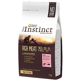 Wahre Instinkt hohe Fleisch ohne Knochen Thunfisch Lachs (Katzen, Futtermittel, trocken-Ration)