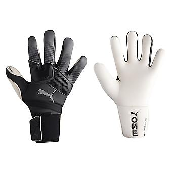 Puma Mens One Grip Hybrid Torwart Handschuhe