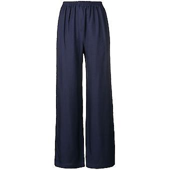 Acne Studios Ak0063885 Women's Blue Cotton Pants