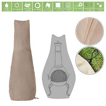 Protection de couverture d'accessoires de jardin résistants à l'eau en pierre pour Chimnea