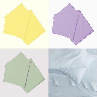 Belledorm 200 Thread Count Cotton Percale Flat Sheet