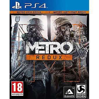 Metro Redux PS4 Game
