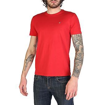 Napapijri Original Men Spring/Summer T-Shirt - Red Color 34217