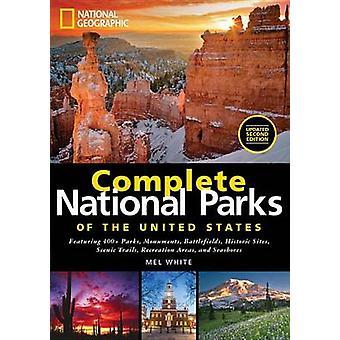 Compléter les parcs nationaux des États-Unis d'Amérique - parcs avec 400 +-