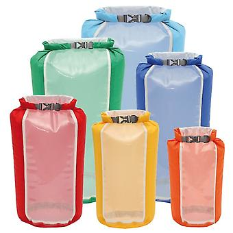 Exped Fold Drybag Clear Sight 4 Pack (X-Small - Duży) -