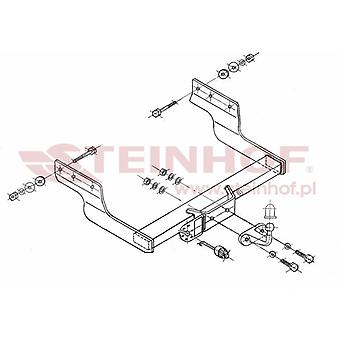 Steinhof Forged Towbar (fixes 2 boulons) pour Ford TRANSIT Bus 2006-2014