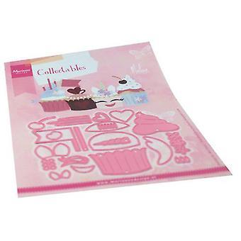 Marianne Design Sammlerstücke Schneiden stirbt - Cupcakes von Marleen Col1481 120x94mm