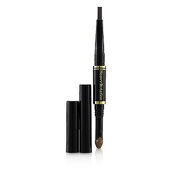 Heavy Rotation Fit Fiber In Double Eyebrow Pencil - # 02 Dark Brown 0.39g/0.014oz