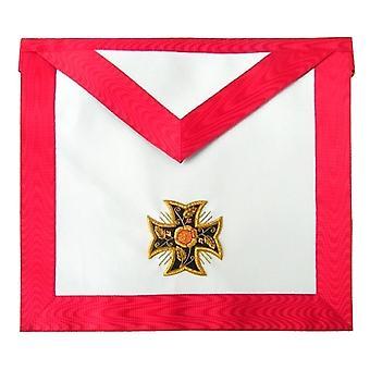 Masonic scottish rite aasr - 18th degree - knight rose-croix - patted templar cross