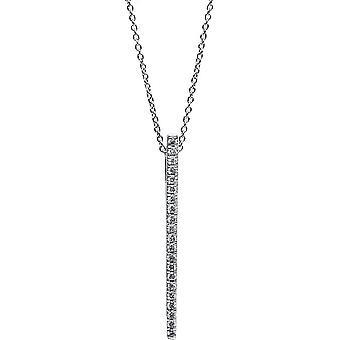 دايموند كولير كولير - 18K 750/- الذهب الأبيض - 0.11 قيراط. - 4C045W8-1