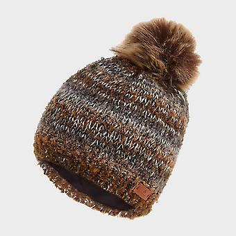 Ny Hi-Gear Elsie Strikket Hat Brown
