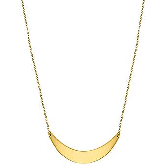 KJ Beckett Crescent Bar halsband - guld