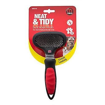 Mikki Dual Slicker Dog Grooming Brush