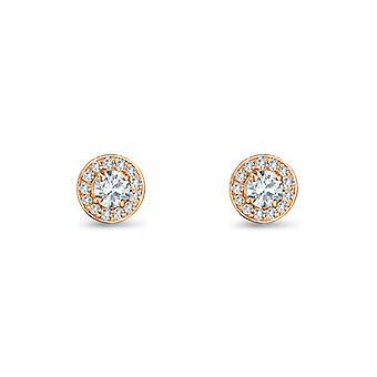 Boucles d'oreilles Athena 18K Or et Diamants
