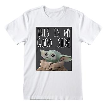 Star Wars The Mandalorian The Child My Good Side Men's T-Shirt | Official Merchandise