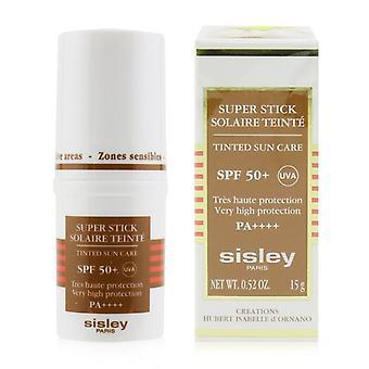 Sisley Super Stick Spf 50+ Uva Getinte zonverzorging (zeer hoge bescherming en Zeer waterbestendig) - 15g/0.52oz