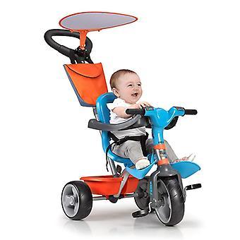 Trehjuling Feber Baby Plus Musik Blå Orange
