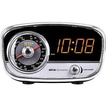 Silva Schneider UR 1967 Radio alarm clock FM AUX Black