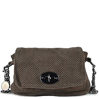 Ash Footwear Camy Cargo Suede Crossbody Bag
