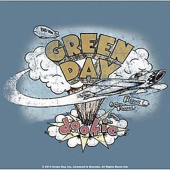 Green Day Coaster Dookie band logo new Official 9.5 x 9.5cm Cork single drink