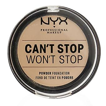Can't Stop Won't Stop Powder Foundation - # Vanilla - 10.7g/0.37oz