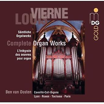 Ben Van Oosten - Vierne: Complete Organ Works [CD] USA import