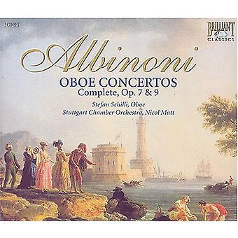 T. Albinoni - Albinoni: Oboe Concertos (Complete), Opp. 7 & 9 [CD] USA import