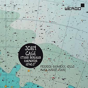 J. Cage - John Cage: Etudes Boreales; Harmonies; 10'40.3 [CD] USA import