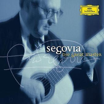 Andres Segovia - Segovia: importation USA le grand maître [CD]