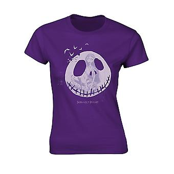 Ladies Nightmare Before Christmas Spooky Official T-Shirt