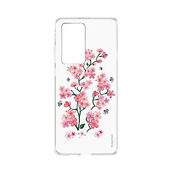 Hull For Huawei P40 Pro Soft Sakura Flowers