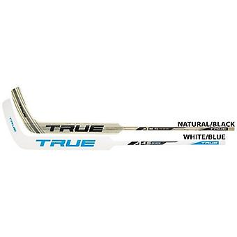 True A4.5 FC-Pro Goalie Stick white/blue - 25