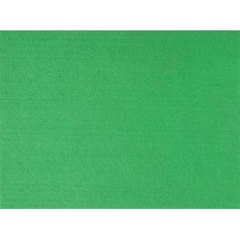 A3 Green Stiffened Felt Sheet for Crafts
