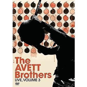 Avett Brothers - Avett Brothers: Vol. 3-Live [DVD] USA import