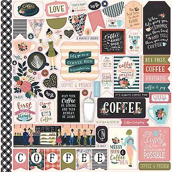 Echo Park Coffee 12x12 Inch Element Sticker