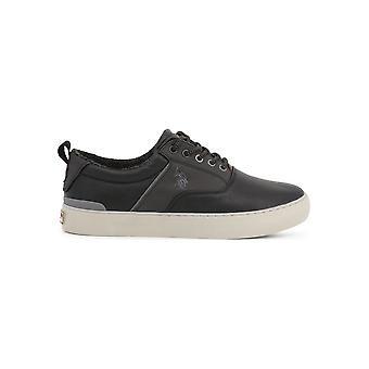 U.S. Polo Assn. - Shoes - Sneakers - ANSON7106W9_Y1_BLK - Men - Schwartz - EU 45