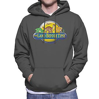 The Land Before Time Logo Men's Hooded Sweatshirt