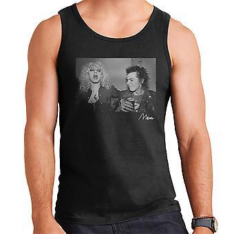 Sid Vicious und Nancy Spungen trinken 1978 Herren Weste