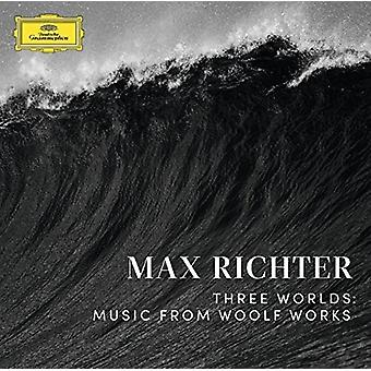 Max Richter - Three Worlds: Music [Vinyl] USA import