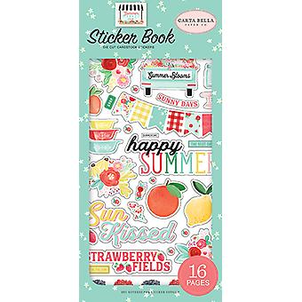 Carta Bella Summer Market Sticker Book