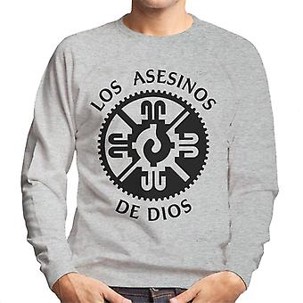 Mayans M.C. Motorcycle Club Los Asesinos De Dios Logo Men's Sweatshirt