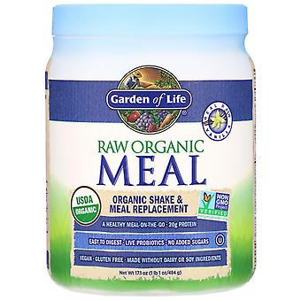 Garden of Life, RAW Organic Meal, Shake & Meal Replacement, Vanilla, 17.1 oz (48
