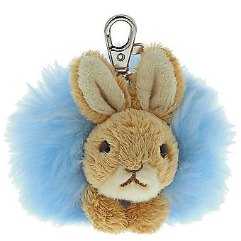 Beatrix Potter Peter Rabbit Pom Pom Keyring