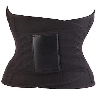 Unisex Sports Fitness Waist Trainer - Black