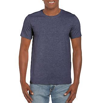 GILDAN G64000 Softstyle Men's T-Shirt dans Heather Navy