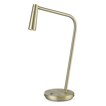 Leds-C4 Gamma - LED Table Lamp Satin Gold 179lm 2700K
