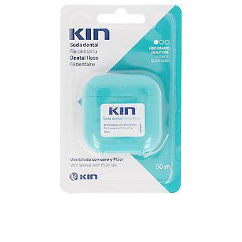 Soie dentaire Kin Kin avec fluor menthe 50 ml Unisex