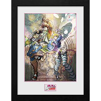 Jojo's Bizarre Adventure Joseph and Ceasar Collector Print
